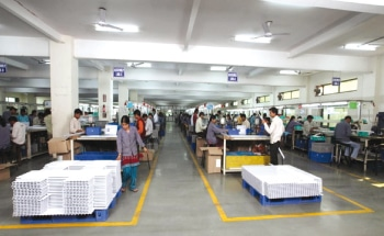 Elin's assembly line at Ghaziabad