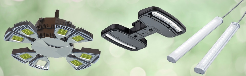The latest in LED industrial lights